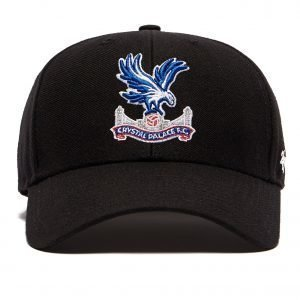 47 Brand Crystal Palace Fc Clean Up Cap Musta