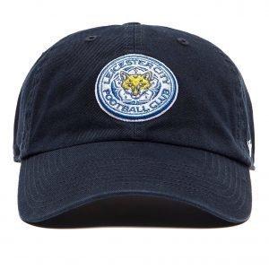 47 Brand Leicester City Fc Clean Up Cap Lippis Laivastonsininen