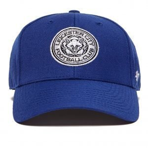 47 Brand Leicester City Fc Clean Up Cap Lippis Sininen