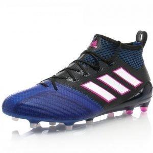 Adidas Ace 17.1 Primeknit Fg Jalkapallokengät Nurmelle Musta / Sininen / Valkoinen