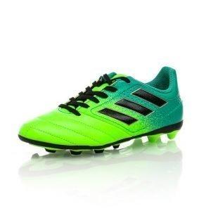 Adidas Ace 17.4 Fxg J Jalkapallokengät Nurmelle Vihreä / Musta