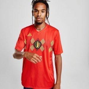 Adidas Belgium 2018 Home Shirt Punainen