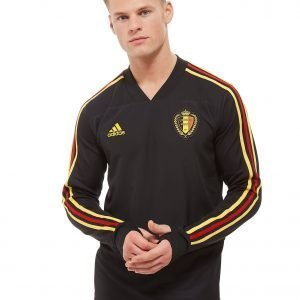 Adidas Belgium 2018 Training Top Musta