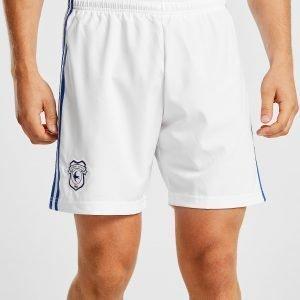 Adidas Cardiff City Fc 2018/19 Away Shorts Valkoinen