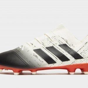 Adidas Initiator Nemeziz 18.2 Fg Jalkapallokengät Luonnonvalkoinen