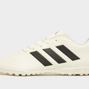 Adidas Initiator Nemeziz 18.4 Tf Jalkapallokengät Luonnonvalkoinen