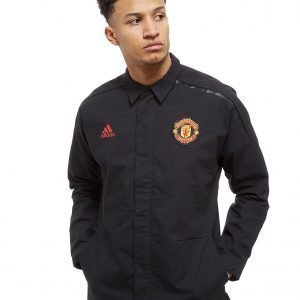 Adidas Manchester United Fc 2018 Z.N.E. Jacket Musta