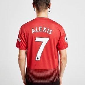 Adidas Manchester United Fc 2018/19 Alexis #7 Kotipaita Punainen