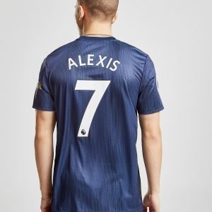 Adidas Manchester United Fc 2018/19 Alexis #7 Third Shirt Sininen