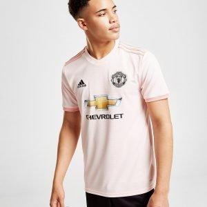 Adidas Manchester United Fc 2018/19 Away Paita Vaaleanpunainen