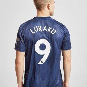 Adidas Manchester United Fc 2018/19 Lukaku #9 Third Shirt Sininen