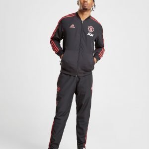 Adidas Manchester United Fc 2018/19 Woven Pants Musta