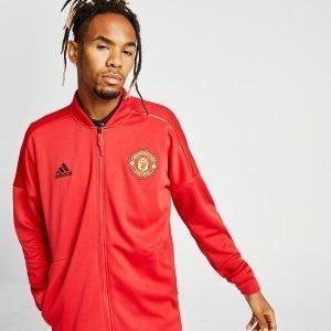 Adidas Manchester United Fc 2018/19 Zone Jacket Punainen