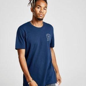Adidas Manchester United Fc Graphic T-Shirt T-Paita Laivastonsininen