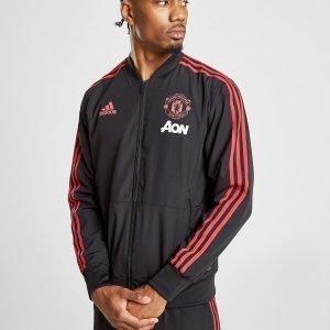 Adidas Manchester United Fc Presentation Jacket Musta