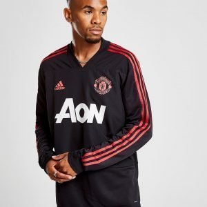 Adidas Manchester United Fc Track Top Musta