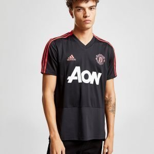Adidas Manchester United Fc Training Shirt Musta