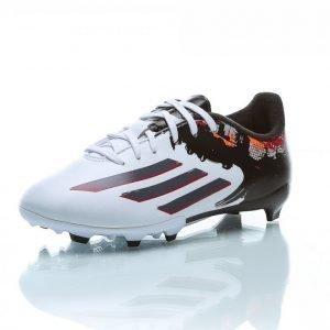 Adidas Messi 10.3 Fg J Jalkapallokengät Nurmelle Musta / Valkoinen