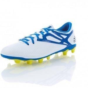 Adidas Messi 15.4 Fxg Jalkapallokengät Nurmelle Valkoinen / Sininen