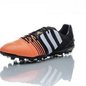 Adidas Nitrocharge 1.0 Ag Jalkapallokengät Nurmelle Musta / Oranssi