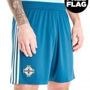 Adidas Northern Ireland 2018/19 Away Shorts Sininen