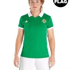 Adidas Northern Ireland 2018/19 Home Shirt Women's Vihreä