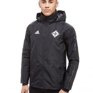 Adidas Northern Ireland 2018/19 Storm Jacket Musta
