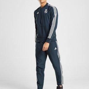 Adidas Real Madrid Presentation Track Pants Sininen