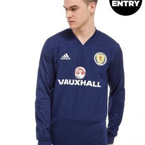 Adidas Scotland Fa 2018 Training Top Laivastonsininen