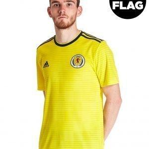 Adidas Scotland Fa 2018/19 Away Shirt Keltainen