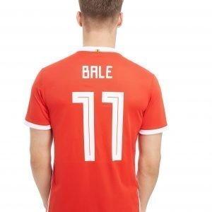 Adidas Wales 2018 Home #11 Bale Shirt Punainen