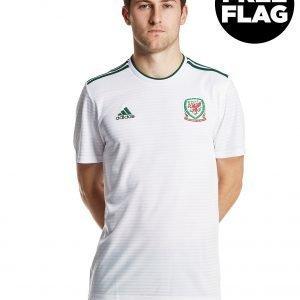 Adidas Wales 2018/19 Away Shirt Valkoinen