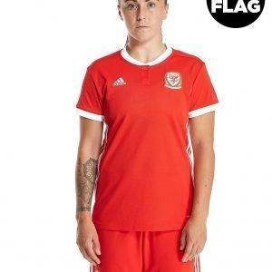 Adidas Wales 2018/19 Home Shirt Women's Punainen