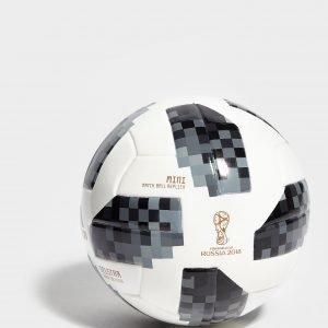 Adidas World Cup 2018 Mini Football Jalkapallo Valkoinen