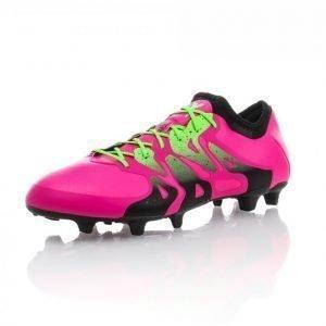 Adidas X 15.1 Fg/Ag Jalkapallokengät Nurmelle Roosa