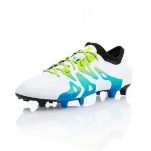 Adidas X 15.1 Fg/Ag Jalkapallokengät Nurmelle Valkoinen