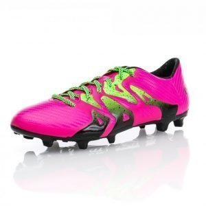 Adidas X 15.3 Fg/Ag Jalkapallokengät Nurmelle Roosa