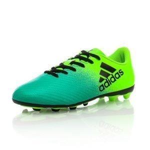Adidas X 16.4 Fxg J Jalkapallokengät Nurmelle Vihreä / Musta