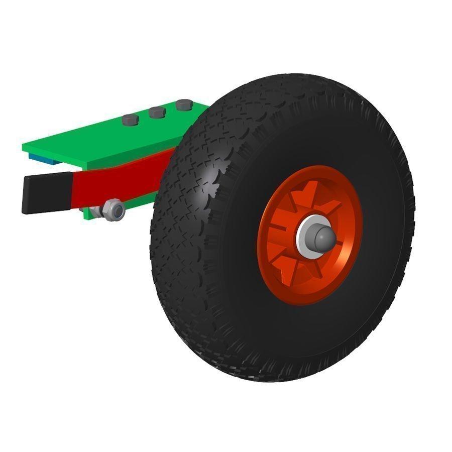 Alusport Easylift Pro jalkapallomaalin pyöräsarja