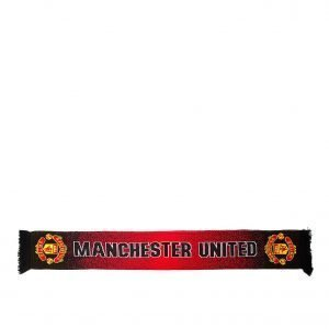 Brooks Jordan Manchester United Fc Speckle Scarf Musta