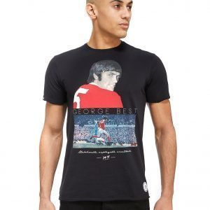 Copa George Best United T-Shirt Musta
