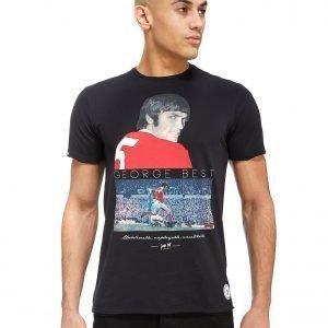 Copa George Best United T-Shirt Musta