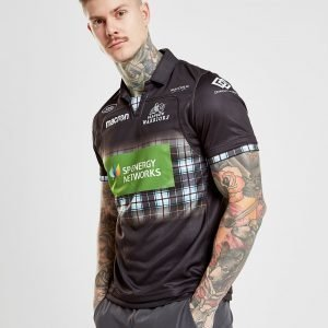 Macron Glasgow Warriors 2018/19 Home Shirt Musta