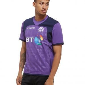 Macron Scotland Rugby 2017 / 18 Training Shirt Violetti