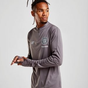 New Balance Celtic Fc 2018/19 1/2 Zip Track Top Harmaa