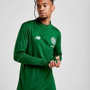 New Balance Celtic Fc 2018/19 1/2 Zip Track Top Vihreä