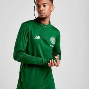 New Balance Celtic Fc 2018/19 1/2 Zip Track Top Vihreä