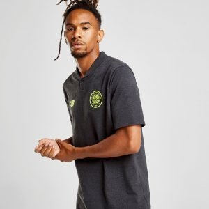New Balance Celtic Fc 2018/19 Essential Polo Shirt Musta