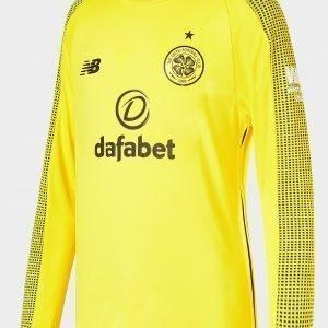 New Balance Celtic Fc 2018/19 Home Goalkeeper Paita Keltainen
