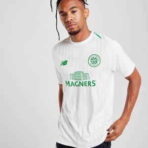 New Balance Celtic Fc 2018/19 Pre Match Shirt Valkoinen